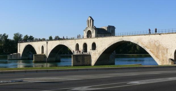 Avignon : La balade du couchant