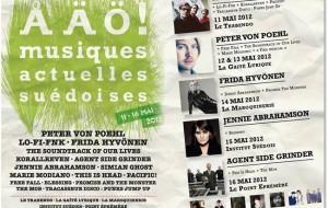 Festival AAO avec Peter Von Poehl à Paris