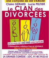 Le clan des divorcés : une pièce de théâtre a ne pas manquer !