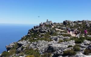 Promenade au sommet de Table Mountain